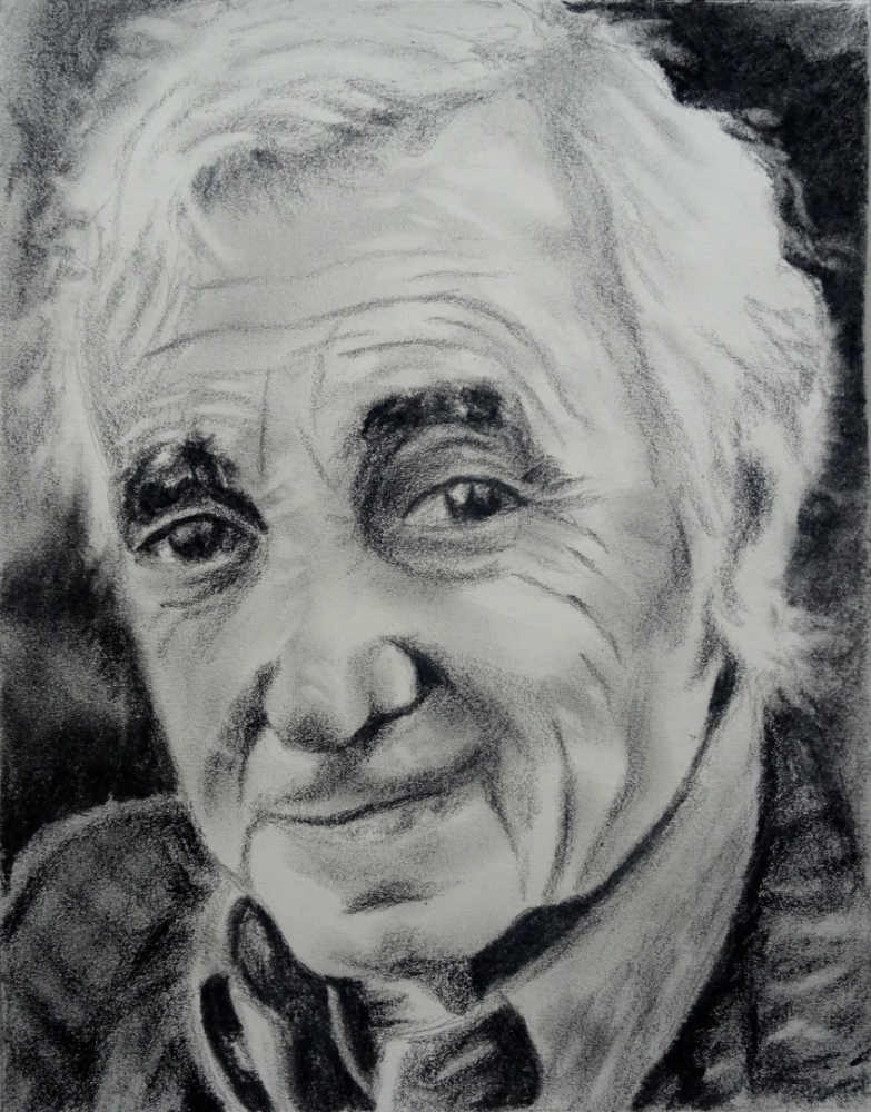 Charles Aznavour by mick